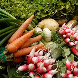 Légumes des paniers d'A deux prés de chez vous