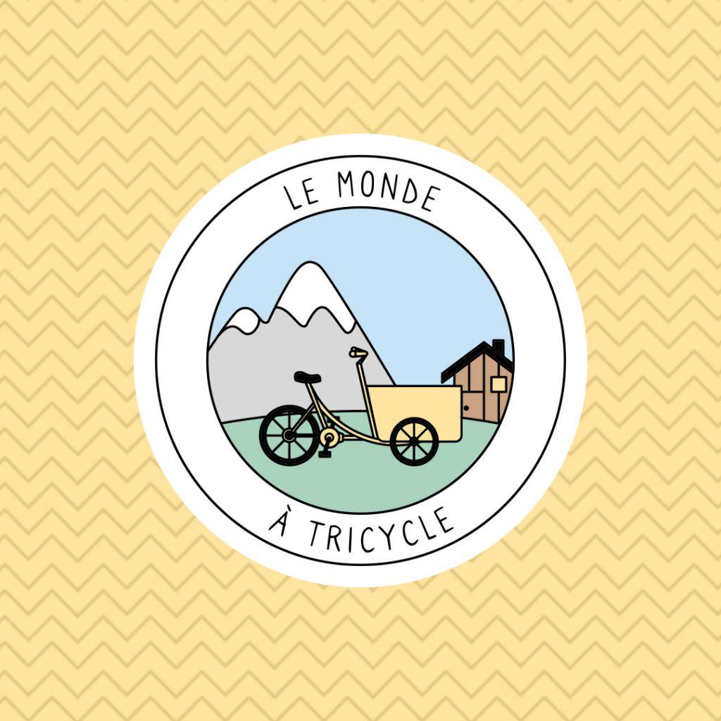 Logo Le monde à trycicle